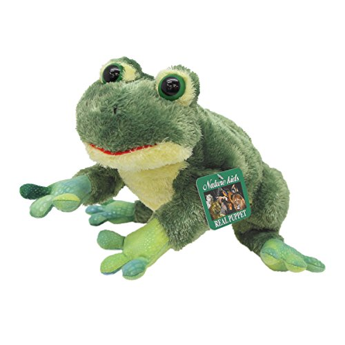 Frog Body Puppet - Aurora World Stuffed Body Puppet Frog (Cries Sound Input)