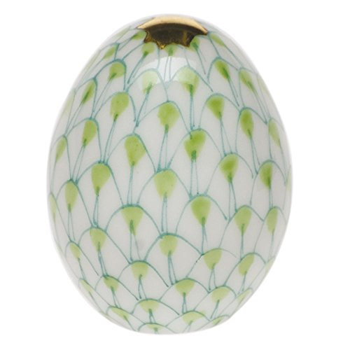 Herend Miniature Egg Key Lime Fishnet ()