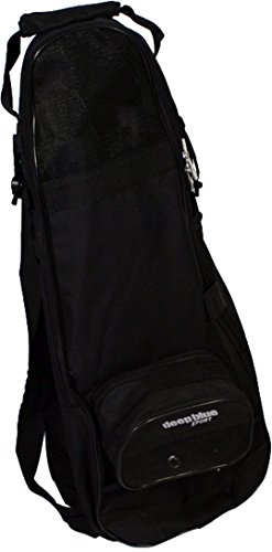 (Deep Blue Gear Freediver Snorkeling Bag, Black)