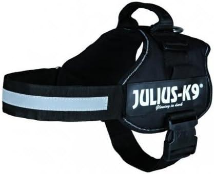 Arnés JULIUS-K9 L-XL 71-96 cm, color negro: Amazon.es: Jardín