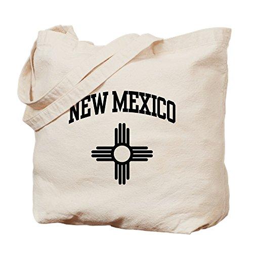 CafePress - New Mexico - Natural Canvas Tote Bag, Cloth Shopping - In Santa New Mexico Shopping Fe