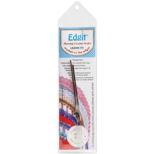 (Edgit Piercing Crochet Hooks Ammee's Babies For Crocheting Edges Set of 2)