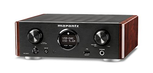 Marantz HD-DAC1 - Reference Quality Headphone Amplifier, Digital-Analog-Converter & Stereo Preamp All-in-One | High Resolution Audio Playback | iPod/iPhone Compatible | MusicLink Space Saver Design (Best Integrated Amplifier In The World)