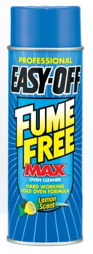 Easy Off Professional Fume Free Max Oven Cleaner Aerosol, 24 Ounce (Pack of 6)