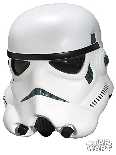 Rubie's Men's Star Wars Collector Stormtrooper Collectors Helmet, Multi, One -