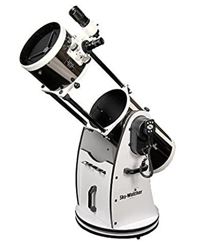 SkyWatcher S11800 GoTo Collapsible Dobsonian 8-Inch (White) (Celestron Computerized Newtonian)