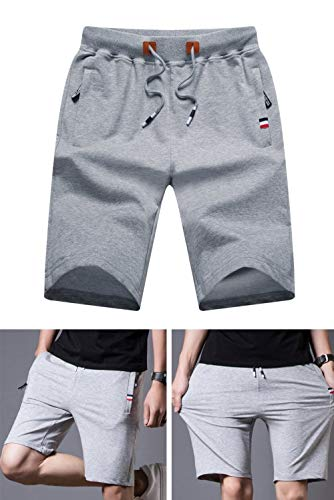 Con Lightgrey Deportivos Playa Cordones Fácil Marca Cortos Moda Correr Relajado Bermudas Para Mode Pantalones De Ocio Sueltos Verano TxfTPSw