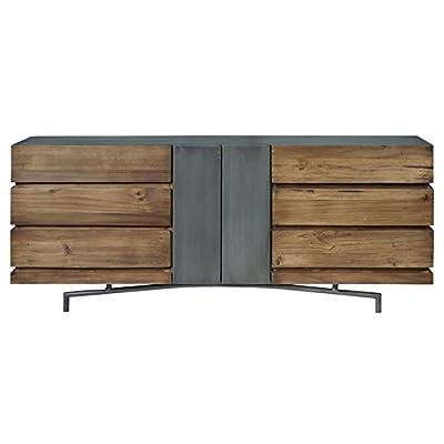 Pulaski Bensen 6 Drawer Dresser in Brown -  - dressers-bedroom-furniture, bedroom-furniture, bedroom - 41%2BQ7g5zh%2BL. SS400  -