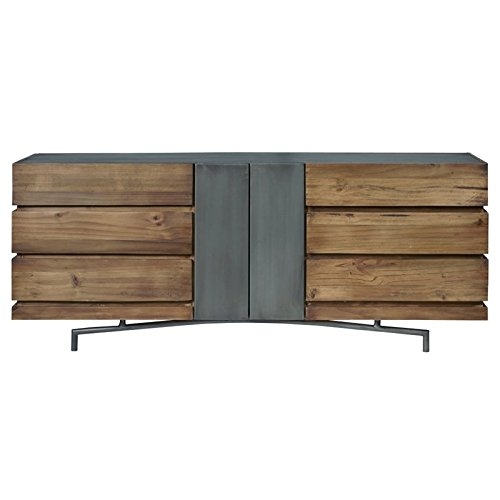 41%2BQ7g5zh%2BL - Pulaski Bensen 6 Drawer Dresser in Brown