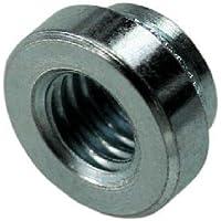 6-32 Thread x .056 thk Steel Zinc QTY-10 Unicorp ES-632-2 Round Captive Nut Self-Clinching