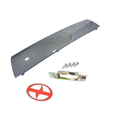 Sentinel Parts 05-10 Scion Tc Liftgate Tailgate Hatch Garnish Carbon Fiber Look Door Handle Kit
