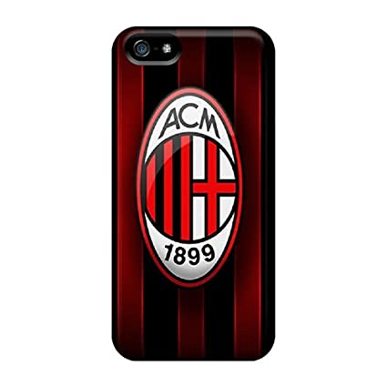 Amazon.com: New Designed Ac Milan Cases Covers/ Iphone 5/5s ...
