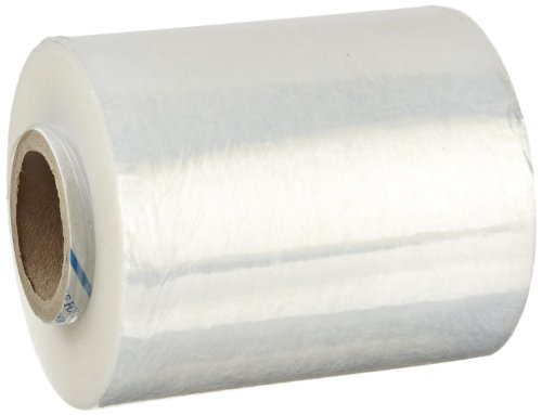 Goodwrappers VSR PRD578M Linear Low Density Polyethylene Clear Cast Hand Stretch Wrap with 1 Reusable Dispenser and Hand Brake, 650' Length x 5