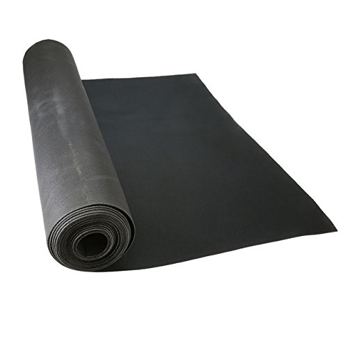 27'' x 180' Neoprene Floor Runner - Black by US Cargo Control