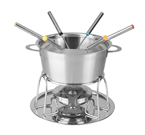 Artestia Stainless Steel Fondue Set with Rechaud