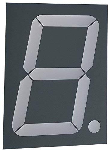 Large Seven Segment Display Tri-Color 2.3 inch Digit