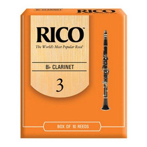 Rico RCA1230 Bb Clarinet Reed, Strength 3.0