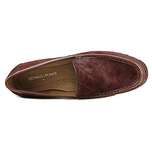 Donald J Pliner Roko excéntrica Loafers–Granate