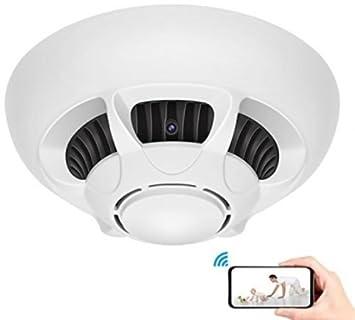 Amazon.com : Camaras Espias Ocultas Detector De Fuego Niñera Vision Noche Detector Movimiento : Camera & Photo