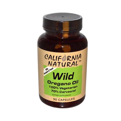 California Natural Wild Oregana Oil Capsules,  90 Count