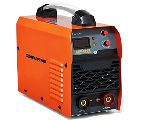 SUNGOLDPOWER 250A ARC MMA Stick IGBT Digital Display LCD Hot Start Welding Machine DC Inverter Welder 250 AMP Rod Anti-Stick Dual 110V And 220V,Complete Package - Lcd Package