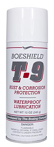 BOESHIELD T-9 Rust & Corrosion Protection/Inhibitor and Waterproof Lubrication, 12 oz.
