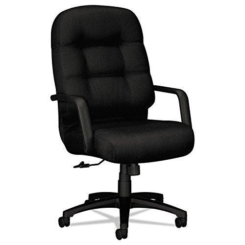 HON Executive Chair - Pillow-Soft Series High-Back Office Chair, Black - Back Series High Chair Pneumatic