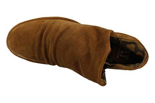 FLY London Yip - Botas para mujer Camel