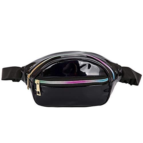 - LUXISDE Summer New Women Fashion Pockets Sports Waterproof Running Pockets Beach Bag