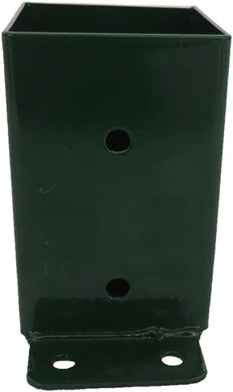 Raccord balan/çoire vert mural Bois /équarri 9x9 en acier fixation mur