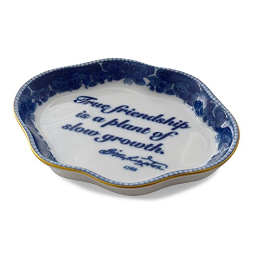 George Washington's Mount Vernon Mottahedeh Friendship Decorative Dish
