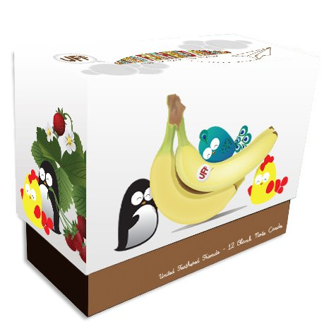UFF Everyday Cards (Fruits) Box Set (Thank You Note For Fruit Basket)