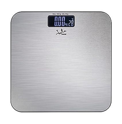 Jata 496N - Báscula de baño electrónica, 150 kg