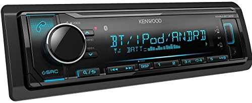 Kenwood KMM-BT322 Car Media Player Bluetooth (no cd and no sirius)