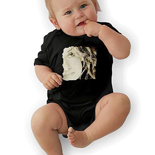 JosephG Infant Celine Dion All The Way A Decade of Song Bodysuit Outfits Black 18M ()