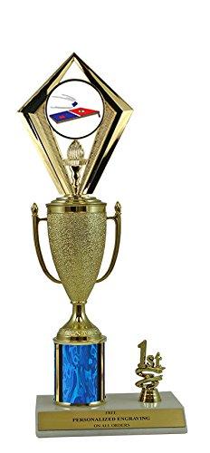12'' Cornhole Cup Trim Trophy