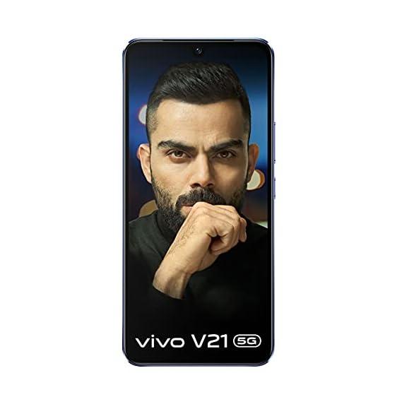 Vivo V21 5G (Sunset Dazzle, 8GB RAM, 128GB Storage) with No Cost EMI/Additional Exchange Offers