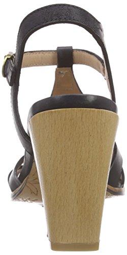 Neosens Gloria - Sandalias de tobillo Mujer Negro