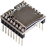 Rasbee オリジナル ミニMP3 プレーヤーモジュール DF-Player MP3-TF-16P プレーヤーミニプレーヤー arduinoのための 1個 [並行輸入品]