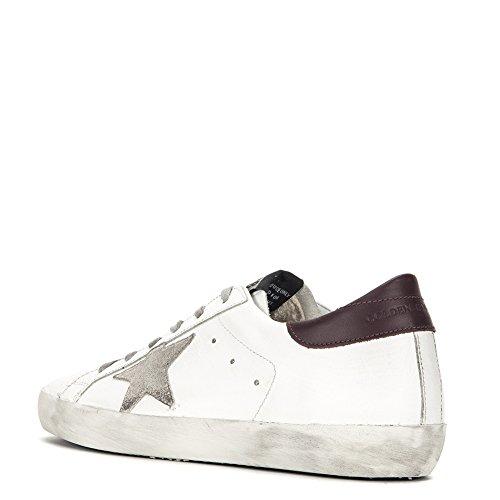 Gouden Ganzenwomens Superstar Sneaker G31ws590.c70 Wit / Bordeaux