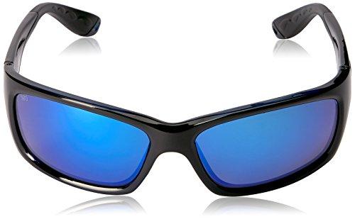 Costa Del Mar Jose Polarized Sunglasses Black/Blue Mirror