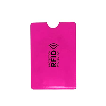 Homeofying 10Pcs Aluminio RFID Bloqueo ID Tarjeta Titular ...