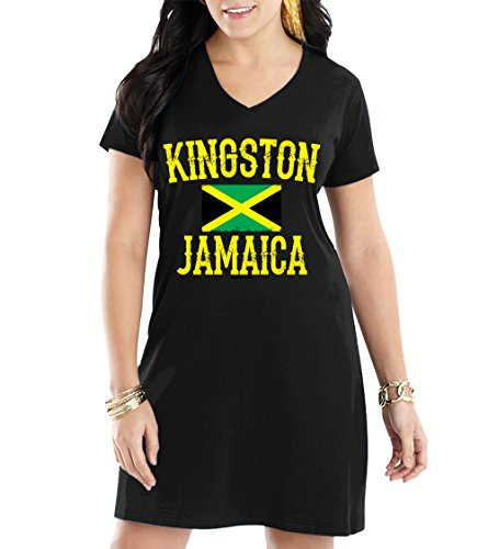 WOMENS Kingston Jamaica Jamaican Nightshirt