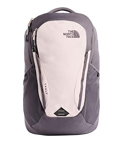 The North Face Women's Women's Vault Backpack Rabbit Grey/Pink Salt One Size