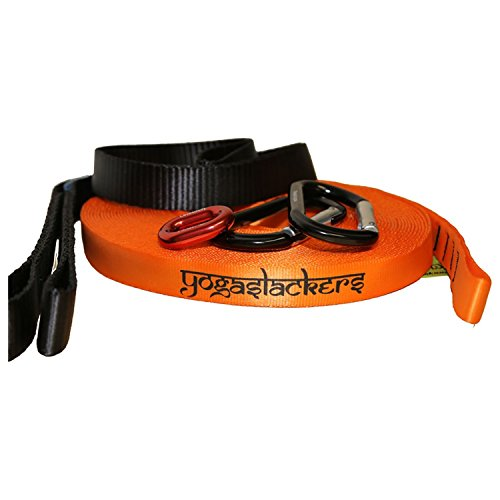 Slackline Industries Yogaslackers E-Line Elite 50 Foot by Yoga Slackers