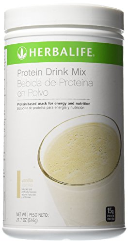 Herbalife Protein Drink Mix Pdm   Vanilla  616 Gm Canister