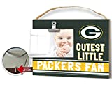 KH Sports Fan Clip It Colored Baby Logo Photo Frame Green Bay Packers