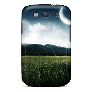 New Snap-on Skin Cases Covers Compatible With Galaxy S3- Black Friday