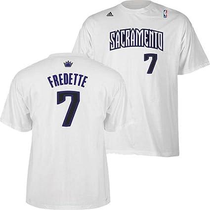 307b44f9e2f Amazon.com   Sacramento Kings Jimmer Fredette White Gametime Adidas ...