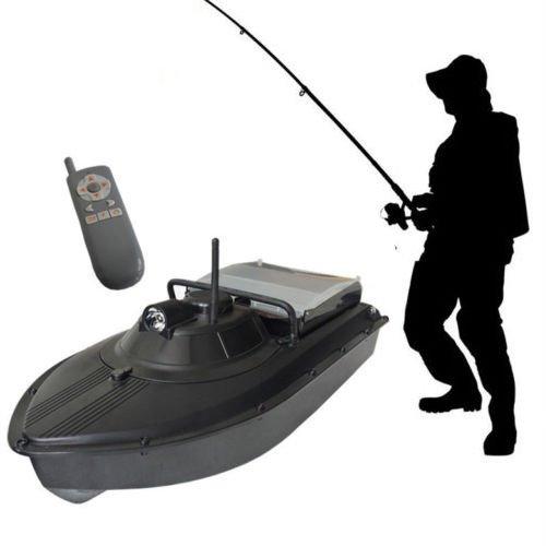 cjc RC Fish Finder Boat, 10A 300M 2AL Wireless Remote Control Bait Boat Fishing Tackle Fish Finder